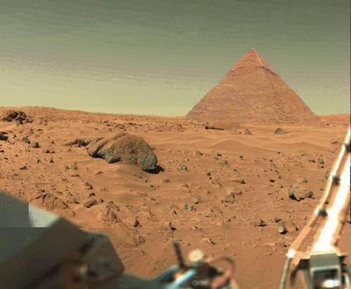 NASA Discovers Pyramid on Mars - Kathy J. Forti, PhD
